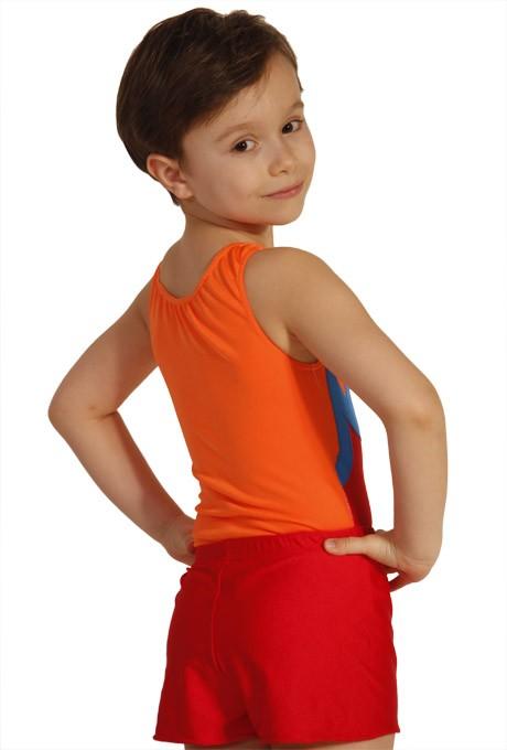 turntrikot turnanzug jungen herren elias rot orange. Black Bedroom Furniture Sets. Home Design Ideas